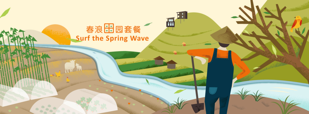 Surf the Spring Wave Package
